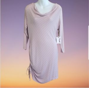 NWT MATERNITY Jessica Simpson Ruched Dress M